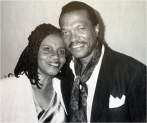 Sylvia Sprinkle-Hamlin and Billy Dee Williams